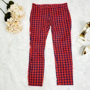 GAP slim cropp red pants size 4